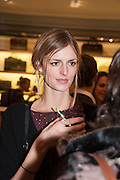 JACQUETTA WHEELER, Smythson Sloane St. Store opening. London. 6 February 2012.
