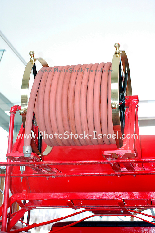 Details of an old fire engine