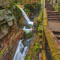 New England waterfall photography of Sabbaday Falls in the White Mountain National Forest of New Hampshire.<br /> <br /> Visit New Hampshire White Mountain National Forest waterfall photography artworks are available as museum quality photography prints, canvas prints, acrylic prints, wood prints or metal prints. Fine art prints may be framed and matted to the individual liking and interior design decorating needs.<br /> <br /> Good light and happy photo making!<br /> <br /> My best,<br /> <br /> Juergen