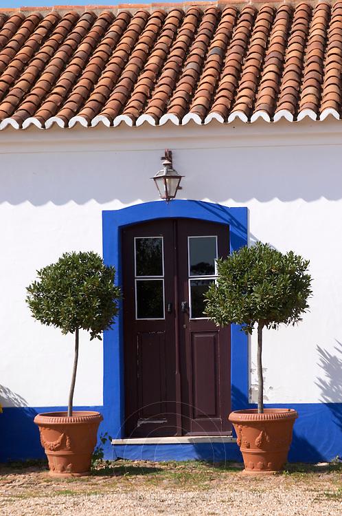 the old farm building door herdade da malhadinha nova alentejo portugal