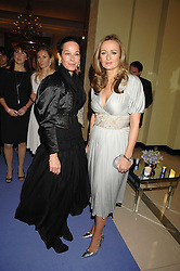 Left to right, AMANDA HARLECH and LUCY YEOMANS at the 10th Anniversary Party of the Lavender Trust, Breast Cancer charity held at Claridge's, Brook Street, London on 1st May 2008.<br /><br />NON EXCLUSIVE - WORLD RIGHTS