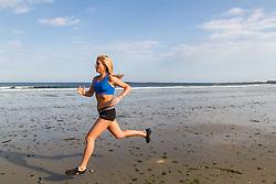 Erica JessemanErica Jesseman running