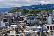 Honolulu & Punchbowl (National Memorial Cemetery of the Pacific), Oahu, Hawaii