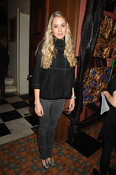 FLORENCE BRUDENELL-BRUCE at a party for Countess Carolinda Tolstoy-Miloslavsky held at The Arts Club, 40 Dover Street, London on 15th April 2008.<br /><br />NON EXCLUSIVE - WORLD RIGHTS