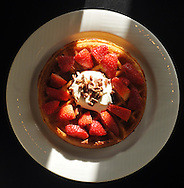 -Strawberry Waffles from the Little Gretel Restaurant in Boerne, Texas