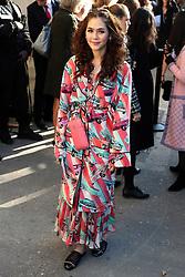 Araya Alberta Hargate bei der Chanel Modenschau während der Paris Fashion Week / 041016<br /> <br /> ***Chanel fashion show as part of Paris Fashion Week on october 04, 2016 in Paris***