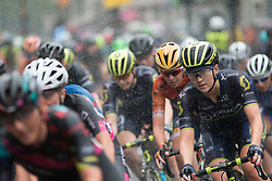 Gracie Elvin (AUS) of Orica Scott Cycling Team rides mid-pack in the fifth lap of the Prudential Ride London Classique - a 66 km road race, starting and finishing in London on July 29, 2017, in London, United Kingdom. (Photo by Balint Hamvas/Velofocus.com)