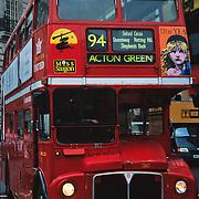 Old double decker..London, England.