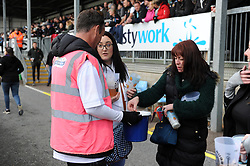 Exeter Chiefs Foundation Bucket Collectors - Mandatory byline: Patrick Khachfe/JMP - 07966 386802 - 10/11/2019 - RUGBY UNION - Sandy Park - Exeter, England - Exeter Chiefs v Bristol Bears - Gallagher Premiership