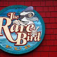 Canada, Nova Scotia, Guysborough. Rare Bird Pub in Guysborough.