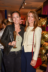 Left to right, Alice Uglow and Anneke Gilkes at the Seren London Launch Party held at Baar And Bass, 336 Kings Road, London England. 26 April 2017.