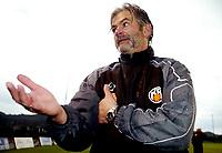 Fotball , 17. februar 2007 , La Manga ,<br /> Brann - KR Reykjavik<br /> <br /> Teitur Thordarson, trener KR