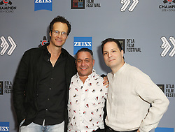 """Randall Batinkoff, Tommy Martino and Paul J. Martino at DTLA Film Festival """"INSIDE GAME"""" Los Angeles Premiere held at Regal LA Live on October 24, 2019 in Los Angeles, California, United States (Photo by © Michael Tran/VipEventPhotography.com"""