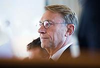 SOESTDUINEN - Willem Zelsman wordt de nieuwe voorzitter van de NGF . Algemene Ledenvergadering van de NGF (Nederlandse Golf Federatie) met bestuurswisseling. COPYRIGHT KOEN SUYK