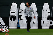 England Official Training Session, Saint Petersburg, before Semi-Final