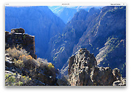 Black Canyon of the Gunnison National Park, Colorado, USA