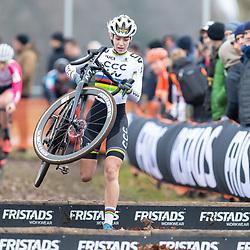 12-01-2020: Wielrennen: NK Veldrijden: Rucphen <br />Inge van der Heijden