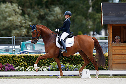 Nieuwenhuis Jeanine, NED, Genua Tc<br /> Longines FEI/WBFSH World Breeding Dressage Championships for Young Horses - Ermelo 2017<br /> © Hippo Foto - Dirk Caremans<br /> 04/08/2017