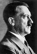 Adolph Hitler (1889-1945) German fascist dictator.