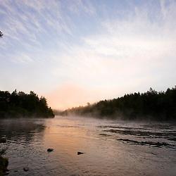 The Androscoggin River in Errol, New Hampshire.