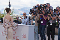Actress Lily Collins<br />  at the Okja film photo call at the 70th Cannes Film Festival Friday 19th May 2017, Cannes, France. Photo credit: Doreen Kennedy