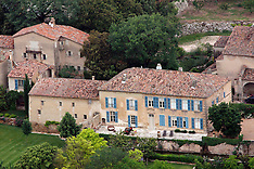 France - Brangelina Chateau Miraval - 21 Oct 2016