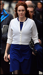 Former News of the World Editor Rebekah Brooks arrives at The Old Bailey, London, United Kingdom, for  the Phone hacking trial Thursday, 20th February 2014. Picture by Andrew Parsons / i-Images