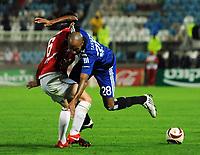 v.l. Bebars Natcho , Mikael Tavares HSV<br /> Europa League Hapoel Tel Aviv - Hamburger SV<br /> <br /> Norway only
