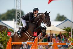 Van Paesschen Constant, BEL, Carlow vd Helle<br /> Rolex Grand Prix CSI 5* - Knokke 2017<br /> © Dirk Caremans<br /> 09/07/17
