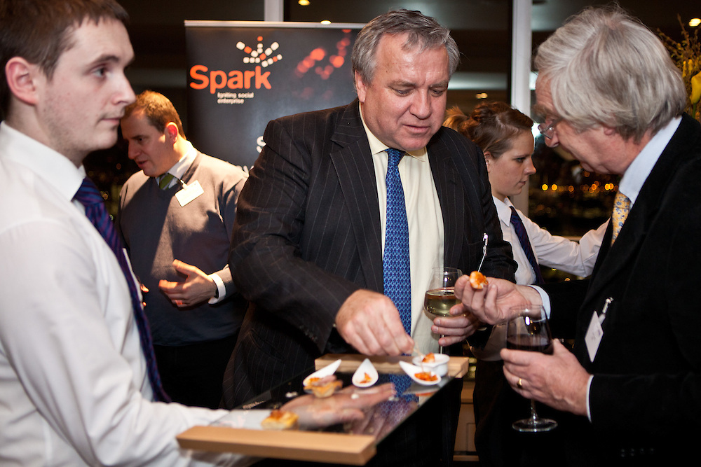 The party at the top of the tower Igniting the SPARK in social enterprise, a debate at BT Tower, London.