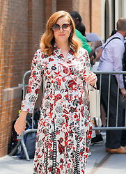 Amy Adams seen posing while leaving the View in New York City. 31 Jul 2018 Pictured: Amy Adams. Photo credit: ZapatA/MEGA TheMegaAgency.com +1 888 505 6342