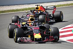May 13, 2018 - Barcelona, Catalonia, Spain - Red Bull of Max Verstappen and Daniel Ricciardo during the Formula 1 free practice 1 at the Barcelona-Catalunya Circuit, on 11th May 2018, in Barcelona, Spain. (Credit Image: © Joan Valls/NurPhoto via ZUMA Press)