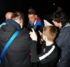 Italy Football Team Arrive at Manchester Airport - 22 March 2018