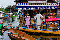 Shikaras, Dal Lake, Kashmir, Jammu and Kashmir State; India.