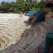 Miss Nederland 2003 reis Turkije, hotel Club Paradiso, amphitheater