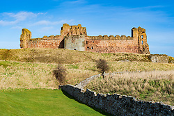 Tantallon Castle in East Lothian , Scotland , UK