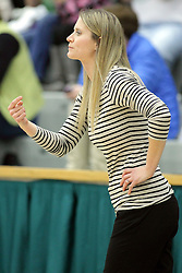 21 February 2015:  Tethnie Carillo during an NCAA women's division 3 CCIW basketball game between the Elmhurst Bluejays and the Illinois Wesleyan Titans in Shirk Center, Bloomington IL