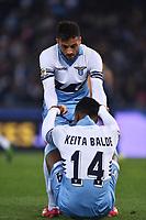 Felipe Anderson, Keita Balde Diao Lazio <br /> Roma 22-03-2015 Stadio Olimpico Football Calcio Serie A 2014/2015 Lazio - Hellas Verona. Foto Andrea Staccioli / Insidefoto