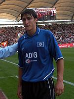11/09/04 - STUTTGART - GERMANY - Bundesliga - <br />VfB STUTTGART (2) vS. HSV HAMBURG (0) -<br />HSV N*19 KUCUKOVIC MUSTAFA in his first Bundesliga match with ONLY 17 YEARS OLD. <br />© Gabriel Piko / Piko-Press