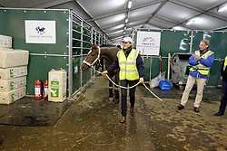 Departure from Liege airport of the horses for the WEG in Lexington - Kentucky<br /> Alltech FEI World Equestrian Games - Kentucky 2010<br /> © Dirk Caremans