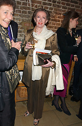 MARGARET BECKETT MP at the annual Parliamentary Palace of Varieties in aid of Macmillan Cancer Relief at St.Johns, Smith Square, London on 2nd February 2006. <br /><br />NON EXCLUSIVE - WORLD RIGHTS