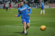Billy Paynter (Hartlepool United) before the Sky Bet League 2 match between Hartlepool United and Stevenage at Victoria Park, Hartlepool, England on 9 February 2016. Photo by Mark P Doherty.