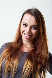 Anja Baskovic na izboru za Miss Sporta Slovenije 2014, on January 14, 2014 in Ljubljana, Slovenia. Photo by Vid Ponikvar / Sportida