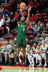 NORMAL, IL - December 16: Rashad Williams during a college basketball game between the ISU Redbirds and the Cleveland State Vikings on December 16 2018 at Redbird Arena in Normal, IL. (Photo by Alan Look)