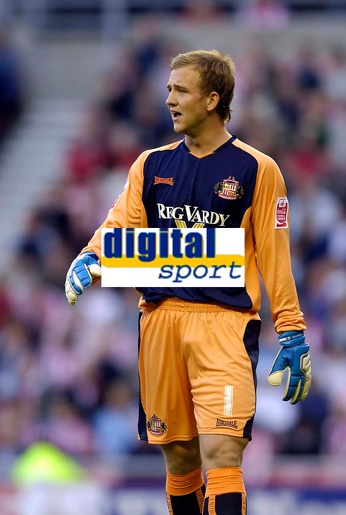 Photo: Jed Wee.<br /> Sunderland v Birmingham City. Coca Cola Championship. 09/08/2006.<br /> <br /> Sunderland goalkeeper Ben Alnwick earns a call up to the England U21 squad.