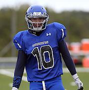 Blue Ridge School football vs Covenant School October 1, 2015 in Greene County, Virginia. Photo/Andrew Shurtleff