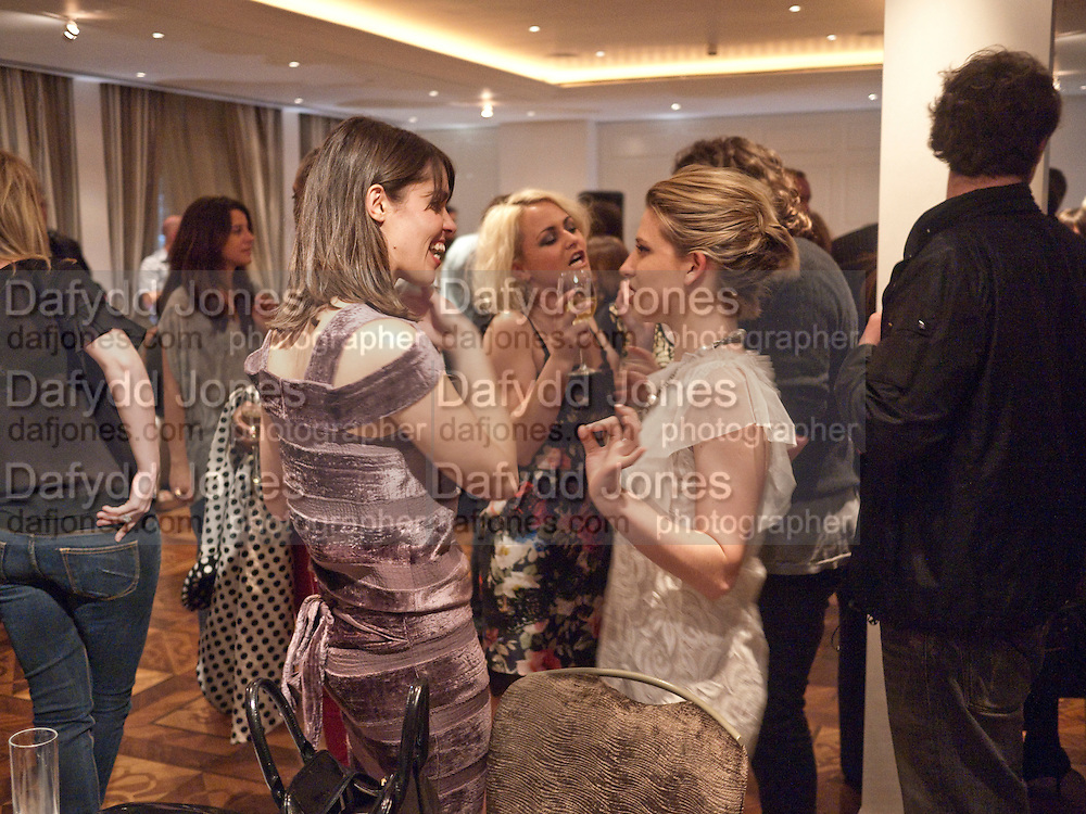KAREN CLARKSON; JAIME WINSTONE; RUTH RIVETT-CARNAC, The after-party after the premiere of Duncan WardÕs  film ÔBoogie WoogieÕ ( based on the book by Danny Moynihan). Westbury Hotel. Conduit St. London.  13 April 2010 *** Local Caption *** -DO NOT ARCHIVE-© Copyright Photograph by Dafydd Jones. 248 Clapham Rd. London SW9 0PZ. Tel 0207 820 0771. www.dafjones.com.<br /> KAREN CLARKSON; JAIME WINSTONE; RUTH RIVETT-CARNAC, The after-party after the premiere of Duncan Ward's  film 'Boogie Woogie' ( based on the book by Danny Moynihan). Westbury Hotel. Conduit St. London.  13 April 2010