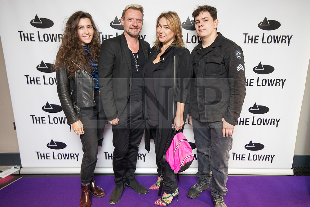 © Licensed to London News Pictures . 30/08/2017 . Salford , UK . Nicole Barber-Lane . Purple carpet photos of celebrities, actors and invited guests arriving for the press night of the musical comedy , Addams Family , at the Lowry Theatre . Photo credit : Joel Goodman/LNP