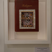 The Complete Works of Shakespeare , Book Sculpture , Mixed Media ,Chelsea Art Fair ,King's Road Revolution ,Where Art meets Music ,Chelsea Old Town Hall,