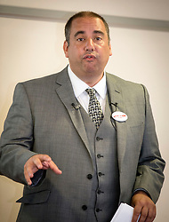 Ukip leadership contender Bill Etheridge officially launches his campaign at the Manchester Conference Centre.